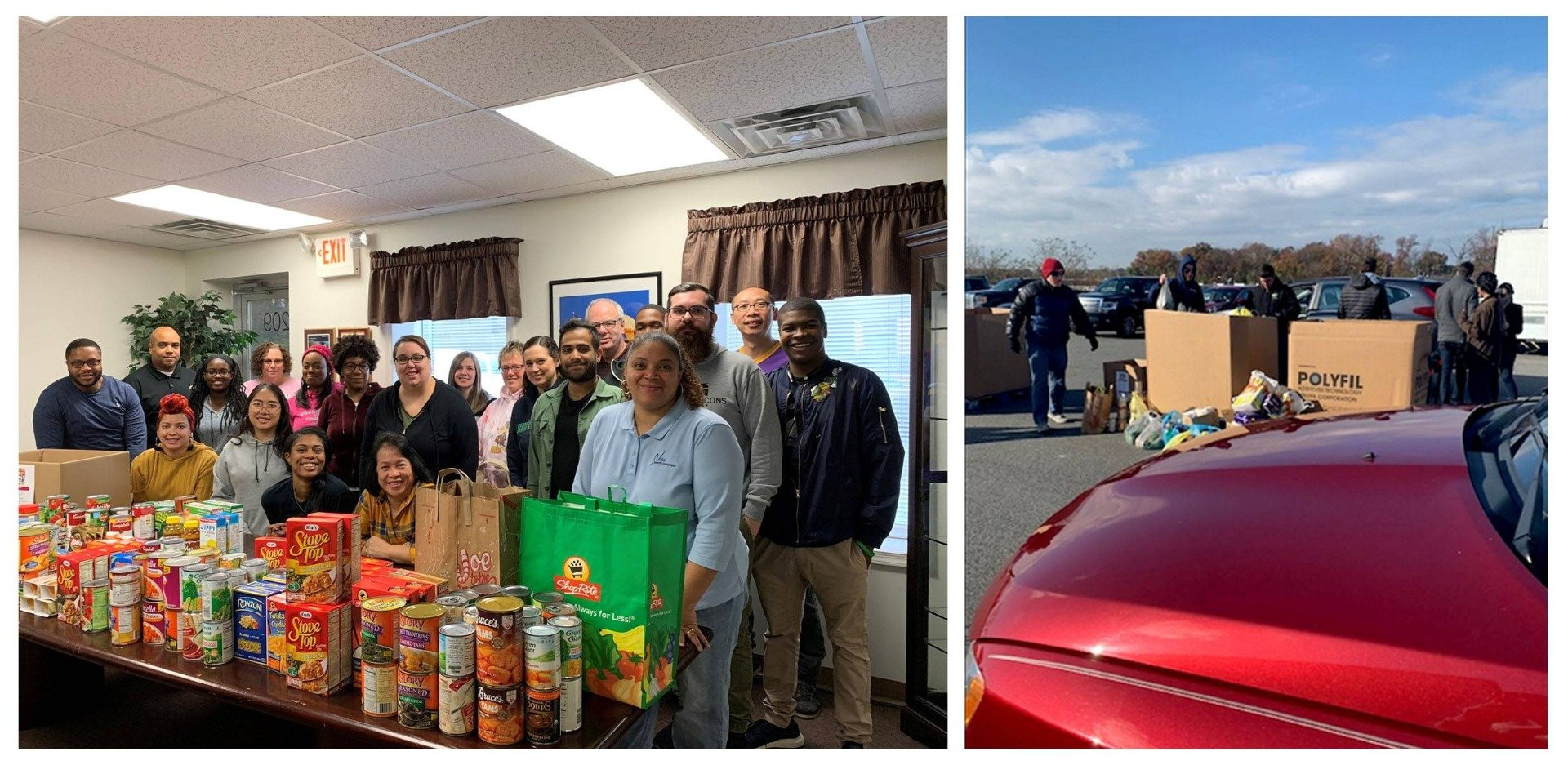 Neta Scientific Inc gives thanks for a successful 1st Annual Thanksgiving Food Drive